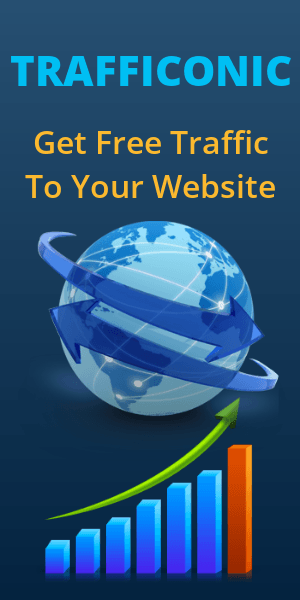 TRAFFICONIC | Get Free Traffic to Your Website or Blog